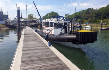 Ariel - 12.5m Cabin Rib used for crew transfers